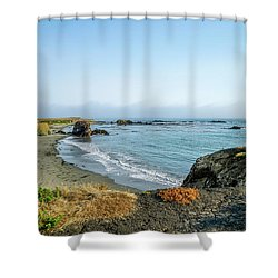 All In One Spot Shower Curtain