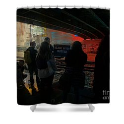 All Lives Matter Shower Curtain