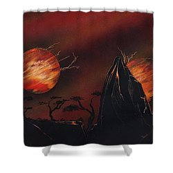All Out Shower Curtain