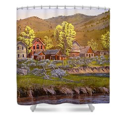 All Played Out Shower Curtain
