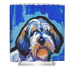 All Rhymes Pbgv Shower Curtain by Lea S