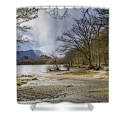 Shower Curtain featuring the photograph All Seasons At Loch Lomond by Jeremy Lavender Photography