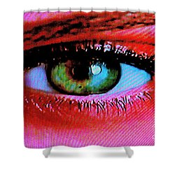 All Seeing Shower Curtain by Xn Tyler