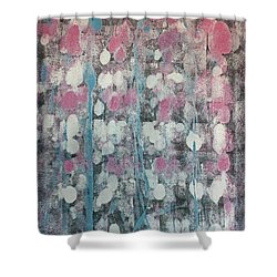 All Shapes Of Love Shower Curtain by Agnieszka Mlicka