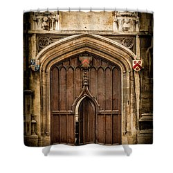 Oxford, England - All Souls Gate Shower Curtain