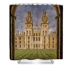 Oxford, England - All Soul's Shower Curtain