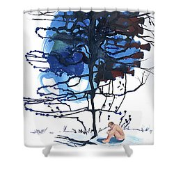 All That I Really Know Shower Curtain