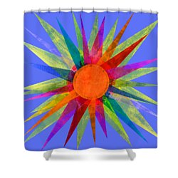 All The Colors In The Sun Shower Curtain