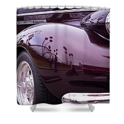 Shower Curtain featuring the photograph All The Curves by Lora Lee Chapman