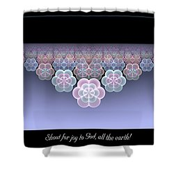All The Earth Shower Curtain