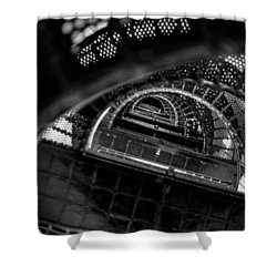 Shower Curtain featuring the photograph All The Way To The Top by T Brian Jones