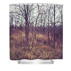 Shower Curtain featuring the photograph All The While by Shane Holsclaw