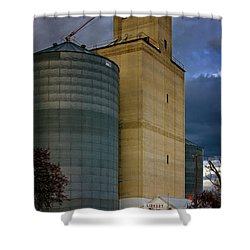 Shower Curtain featuring the photograph All Things by Albert Seger