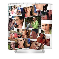 All Things Theresa Shower Curtain