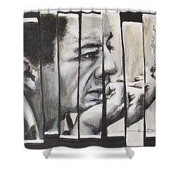 All Together Johnny Cash Shower Curtain