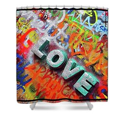 All You Need Is #love. And Maybe Shower Curtain