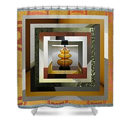 Alladin's Lamp Shower Curtain