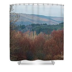 Shower Curtain featuring the photograph Allegany Rhapsody by Christian Mattison
