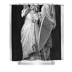 Allegory: Columbia, 1870 Shower Curtain by Granger