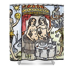Allegory Of Venus, 1496 Shower Curtain by Granger