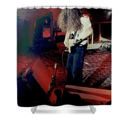 Shower Curtain featuring the photograph A C Winterland Bong 2 by Ben Upham