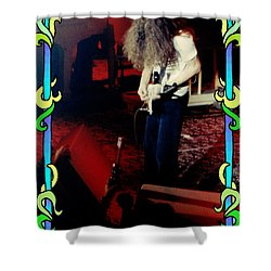 Shower Curtain featuring the photograph A C Winterland Bong 3 by Ben Upham