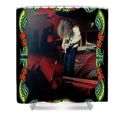 Shower Curtain featuring the photograph A C Winterland Bong 5 by Ben Upham