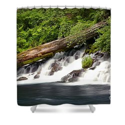 Allen Springs On The Metolius River Shower Curtain