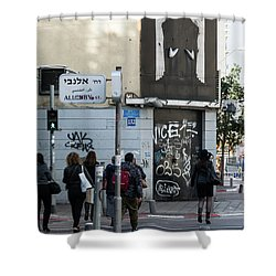 Allenby Street Shower Curtain