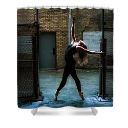 Alley Dance Shower Curtain