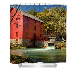 Alley Mill Shower Curtain by Harold Rau