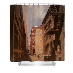 Alley Series 1 Shower Curtain by Anita Burgermeister