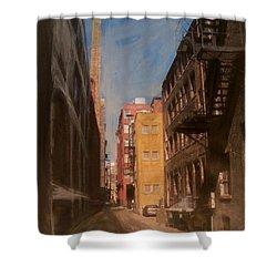 Alley Series 2 Shower Curtain by Anita Burgermeister