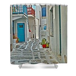 Alley Way Shower Curtain by Joe  Ng