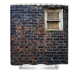 Alley Window Shower Curtain