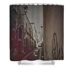 Alleyway Exe Shower Curtain