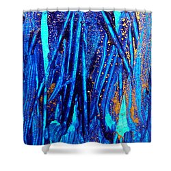 Alll That Glitters Shower Curtain