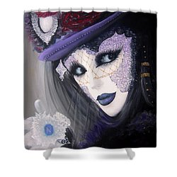 Alluring Venetian Shower Curtain