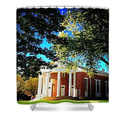 Alma College Dunning Memorial Chapel Shower Curtain