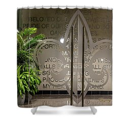 Shower Curtain featuring the photograph Alma Mater by Gregory Daley  PPSA