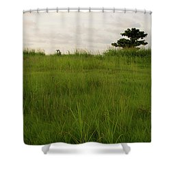 Almendron Shower Curtain