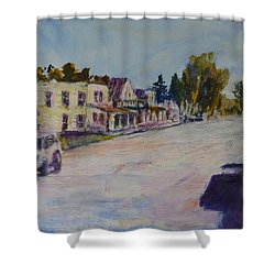 Almont  Shower Curtain by Helen Campbell