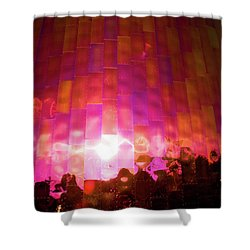 Almost Alone Shower Curtain