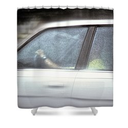 Shower Curtain featuring the photograph Almost Home by Kellice Swaggerty