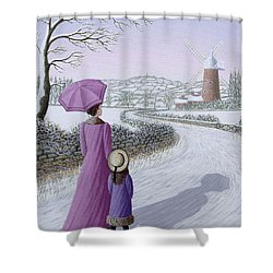 Almost Home Shower Curtain by Peter Szumowski