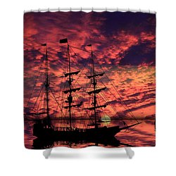 Almost Home Shower Curtain by Shane Bechler