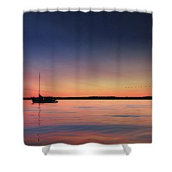 Shower Curtain featuring the photograph Almost Paradise by Lori Deiter