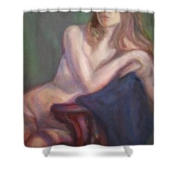 Almost Spring Shower Curtain by Quin Sweetman