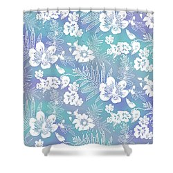 Aloha Lace Bahia Honda Shower Curtain