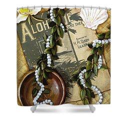 Aloha Oe Shower Curtain by Sandra Blazel - Printscapes